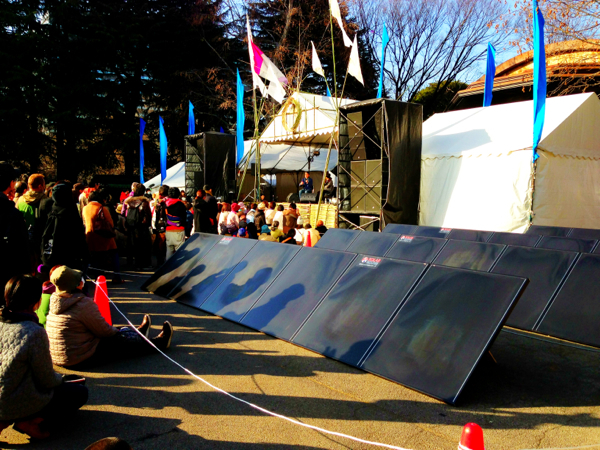 東京・恵比寿のロルフィング®オフィス、リリーフスペース